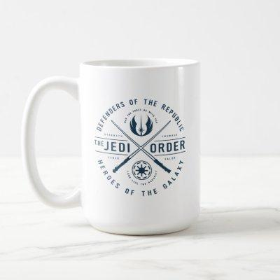 The Clone Wars | Jedi Sabers Emblem Coffee Mug