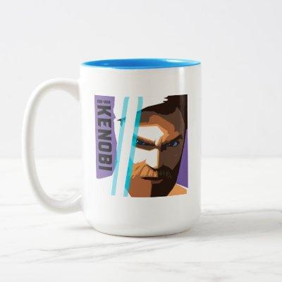 The Clone Wars | Obi-Wan Kenobi Two-Tone Coffee Mug