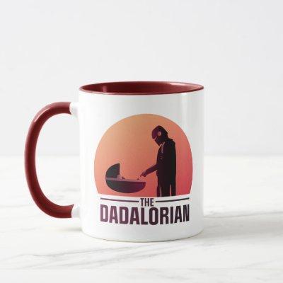 The Dadalorian Meeting Grogu Art Deco Graphic Mug