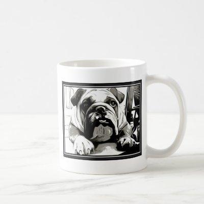"""The """" English Bulldog"""" Collection Coffee Mug"""
