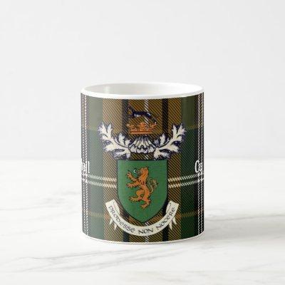 The Farrell Clan of Ireland coat of arms & tartan Coffee Mug