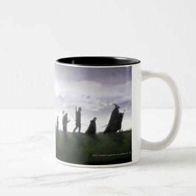 The Fellowship of the Ring Two-Tone Coffee Mug