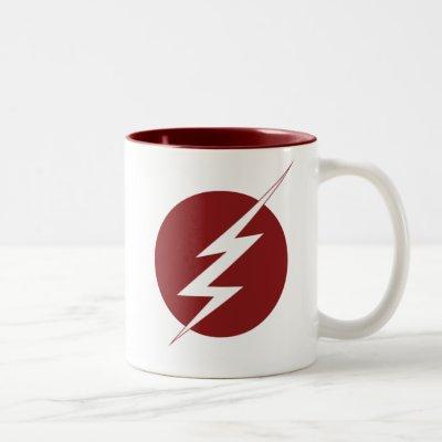 The Flash | Lightning Bolt Logo Two-Tone Coffee Mug