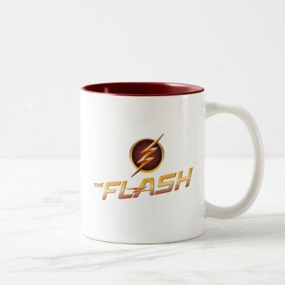 The Flash | TV Show Logo Two-Tone Coffee Mug