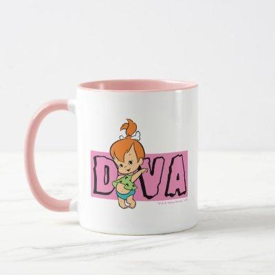 The Flintstones   Pebbles - Little Diva Mug
