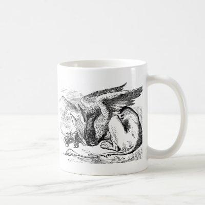 The  Gryphon from Alice in Wonderland Coffee Mug