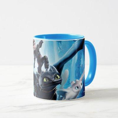 The Hidden World | Hiccup, Toothless, & Light Fury Mug