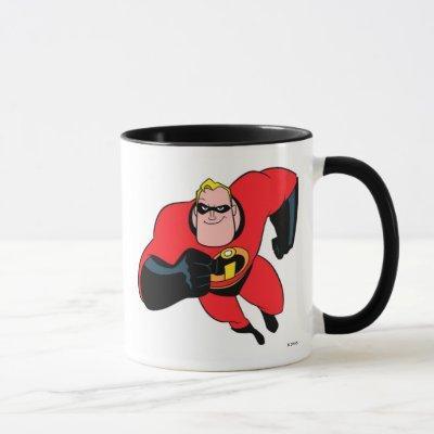 The Incredibles Mr.Incredible flying Disney Mug