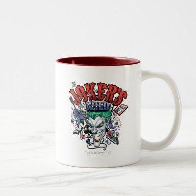 The Joker's Wild Two-Tone Coffee Mug