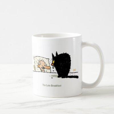 The Late Breakfast Coffee Mug