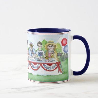 The League of Women Voters at the Fourth of July P Mug