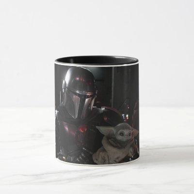 The Mandalorian And The Child In The Cockpit Mug