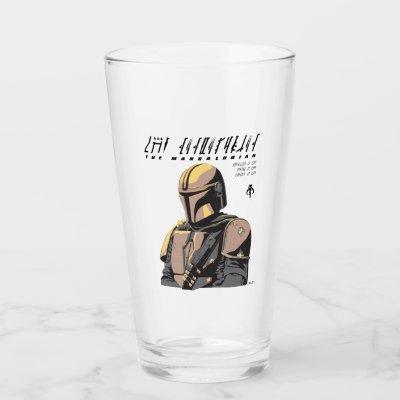 The Mandalorian Canons of Honor Graphic Glass