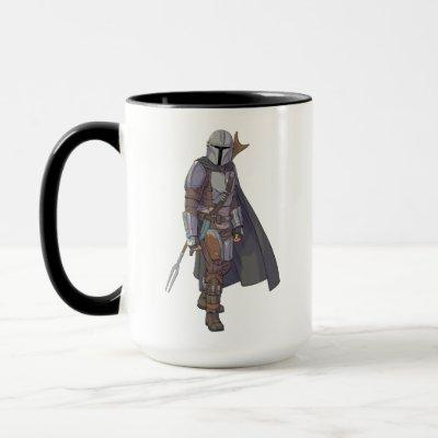 The Mandalorian Character Art Mug