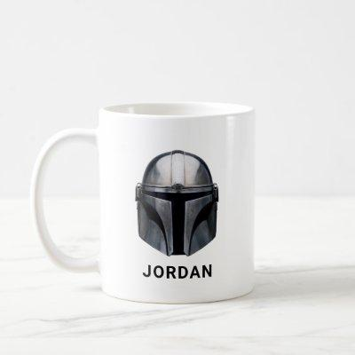 The Mandalorian Helmet Coffee Mug