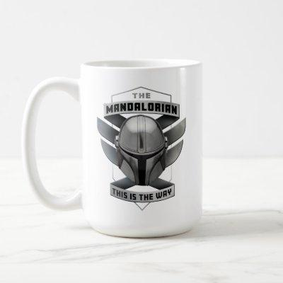 The Mandalorian | This Is The Way Helmet Badge Coffee Mug