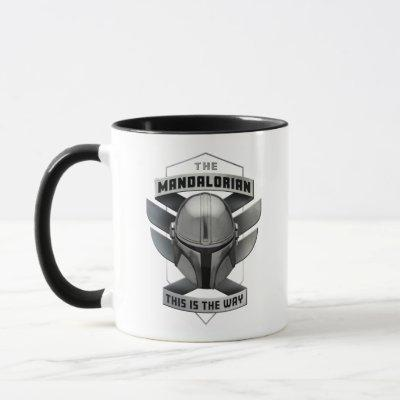 The Mandalorian | This Is The Way Helmet Badge Mug