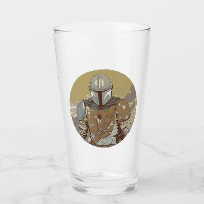 The Mandalorian Walking Through Smoke Glass
