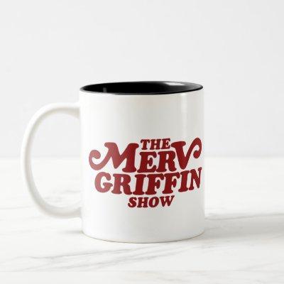 The Merv Griffin Show Merchandise Two-Tone Coffee Mug