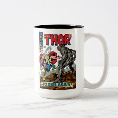 The Mighty Thor Comic #151 Two-Tone Coffee Mug