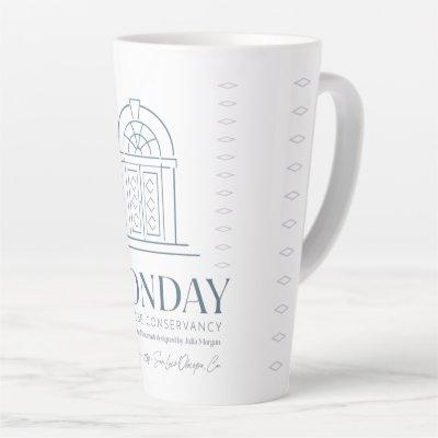 The Monday Clubhouse Conservancy Latte Mug