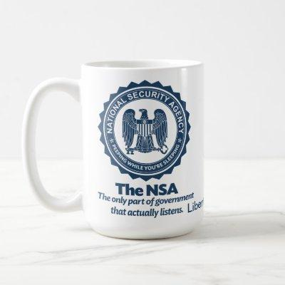 The NSA Coffee Mug