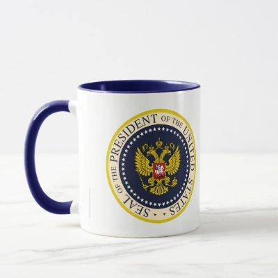 THE ORIGINAL TRUMP PRESIDENTIAL SEAL SPOOF MUG