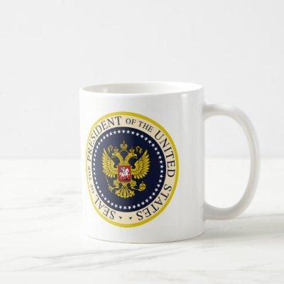 THE ORIGINAL TRUMP PRESIDENTIAL SEAL UPDATE COFFEE MUG