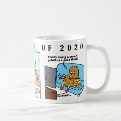 THE PANDEMIC OF 2020 MUG WITH 3 COMICS