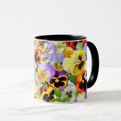 The Pansy Collection Mug