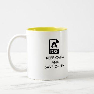 The perfect Autocad Designer Coffee Mug