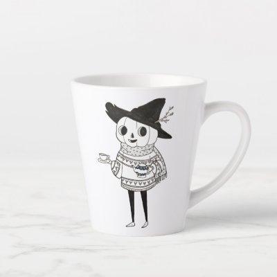 The Polite Pumpkin - Tea Time Latte Mug