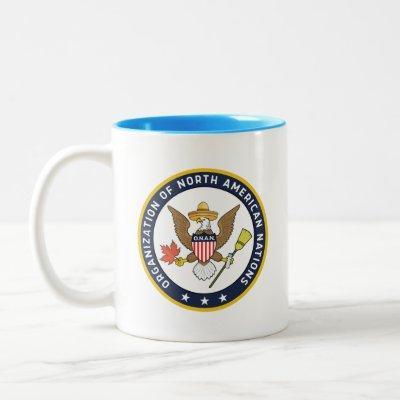 The Seal of O.N.A.N. - Infinite Jest Two-Tone Coffee Mug