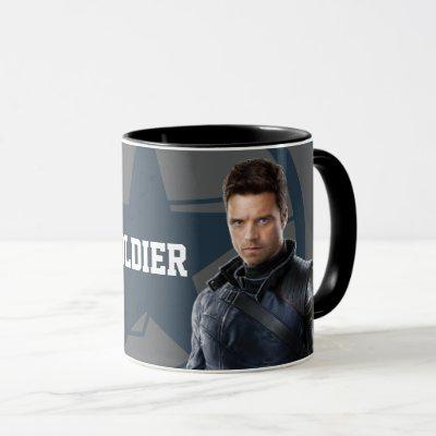 The Winter Soldier Character Art Mug