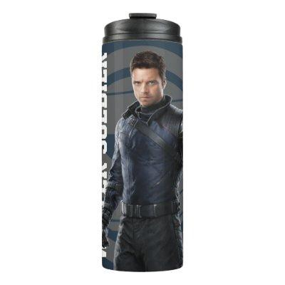 The Winter Soldier Character Art Thermal Tumbler