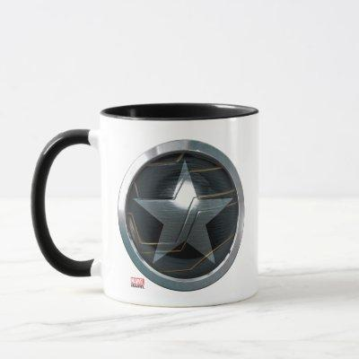 The Winter Soldier Icon Badge Mug