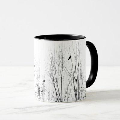 There Are Birds In The Trees Mug