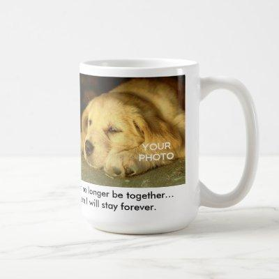There Came A Day (Dog) Pet Memorial Mug