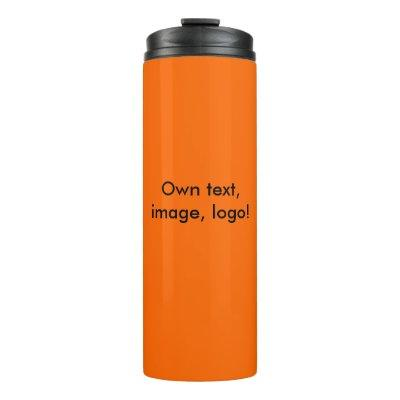 Thermal Tumbler uni Orange