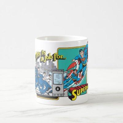 This is a job for�Superman 2 Coffee Mug