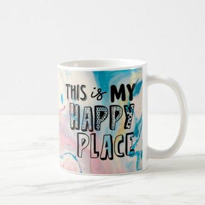 This Is My Happy Place Pastel Mug