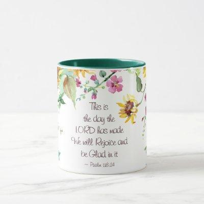 This is the Day the Lord has Made Psalm 118:24 Mug