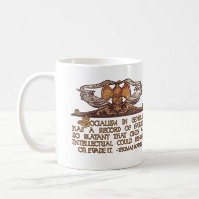 Thomas Sowell Quote on Socialism Coffee Mug