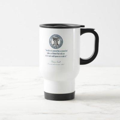 Thomas Sowell (Socialism) Travel Mug