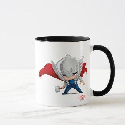 Thor Stylized Art Mug