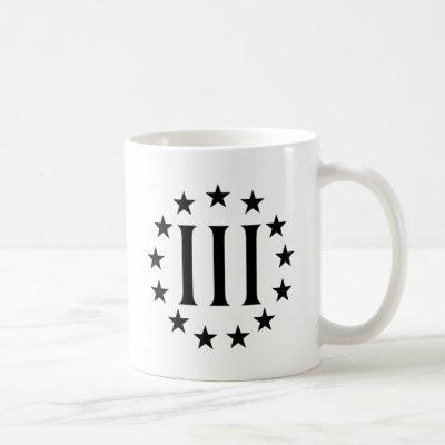 Three Percent - Threeper Coffee Mug