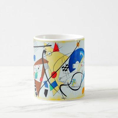 Throughgoing Line by Wassily Kandinsky Coffee Mug