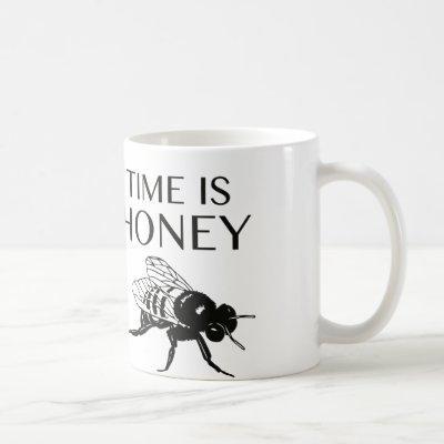 Time Is Honey Coffee Mug