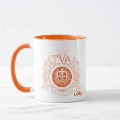 Time Variance Authority Crest Mug