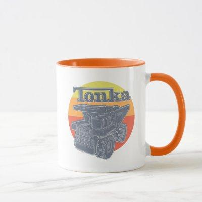 Tonka Retro | Sunset Dump Truck Graphic Mug